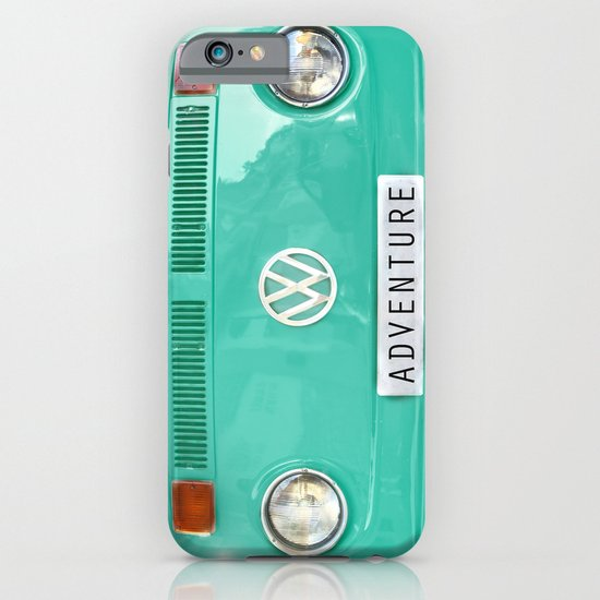 Adventure wolkswagen. Summer dreams. Green iPhone & iPod Case