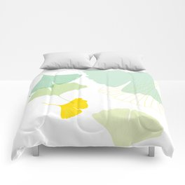 Gingko Leaves Comforters
