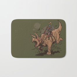 Triceratops Cowbot Bath Mat