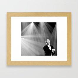 Phil Collins Framed Art Print
