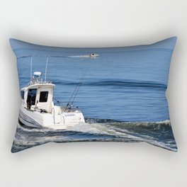 Motorboat Rectangular Pillow