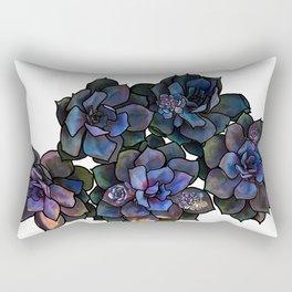 Succulents IIII Rectangular Pillow