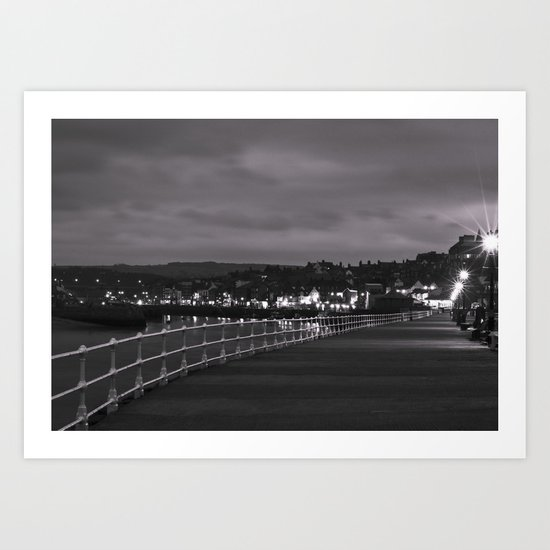 Whitby Bay Art Print