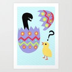 egg buster Art Print
