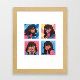 A.K.A. Framed Art Print