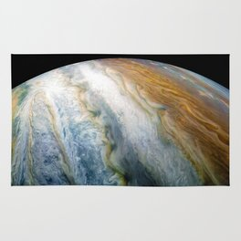 Close up of Planet Jupiter from Juno flyby (2017) Rug