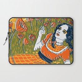 Dorothy in the Poppy Field Laptop Sleeve