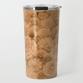 Wall of Flowers Travel Mug