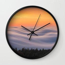 Mount Tamalpais State Park in California USA Wall Clock