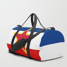 Yugoslavia National Flag Duffle Bag