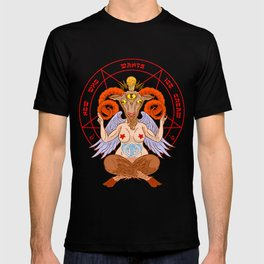 Body-Positive Baphomet T-shirt