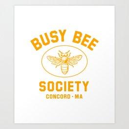 Busy Bee Society - Cute Little Women  Art Print