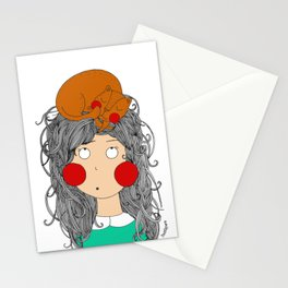 My lovely cat!! Meowww Stationery Cards