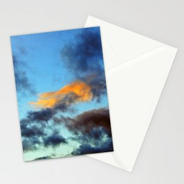 Fishy Cloud Glows in the Sky Stationery Cards