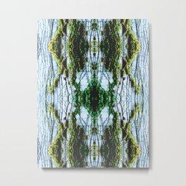 Vine Wall Metal Print