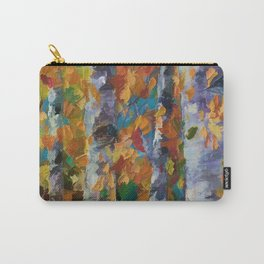 Birch trees - 1 Carry-All Pouch