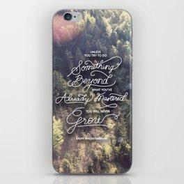 Something Beyond iPhone Skin