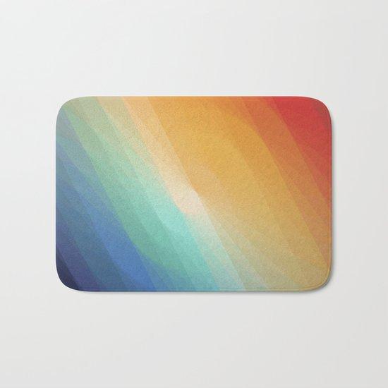Rainbow circle Bath Mat
