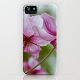 flower photography by Charlotte B iPhone Case