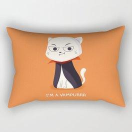 I'm a Vampurrr Rectangular Pillow