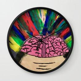 Mind Blowing Wall Clock