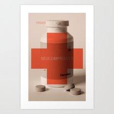 Neue Helvetica Art Print