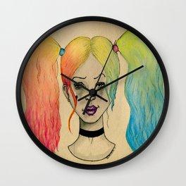 HARLEY QUINN FANART  Wall Clock
