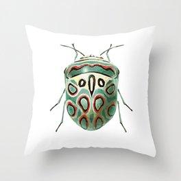 Bug Three Throw Pillow