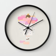 The sweet clouds Wall Clock