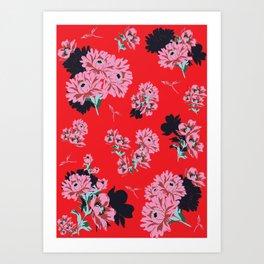 CLARISSA PRINT Art Print