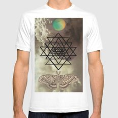 Intuition White SMALL Mens Fitted Tee