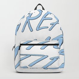 High Tides Great Vibes Summer Surf Text Backpack