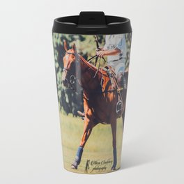 Chestnut Polo Pony Travel Mug