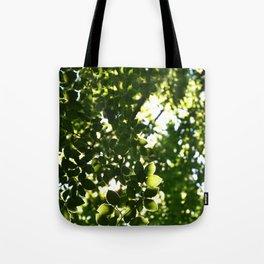 Wood glow Tote Bag
