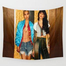 Kehlani x Hayley Kiyoko Wall Tapestry