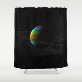 Aquarii Prime Shower Curtain