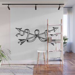 Arrows Wall Mural