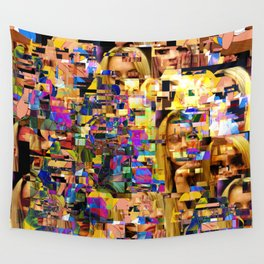 Lindsay-Alice-Court-Glitch Wall Tapestry