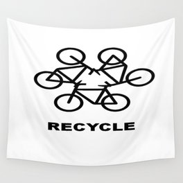 Recycle Wall Tapestry