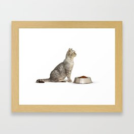 Dinner Framed Art Print