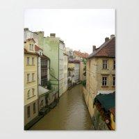 prague Canvas Prints featuring Prague by Marieken