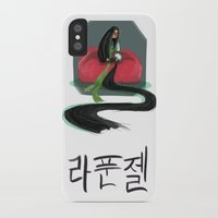 korean iPhone & iPod Cases featuring Korean Rapunzel by Courtney Yu