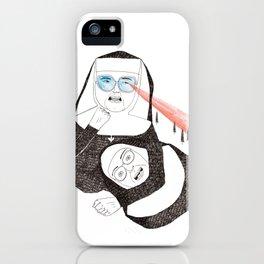 Fighting Nuns iPhone Case