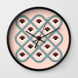 dreams and prophecy Wall Clock