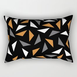 Animated triangles Rectangular Pillow