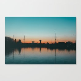 Sunset Calm Canvas Print