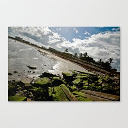 View from the Fort Pierce Jetty Canvas Print