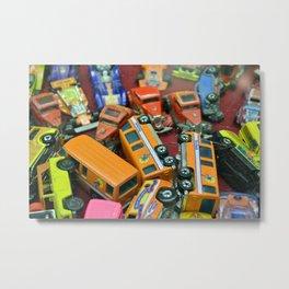 Toy Cars Metal Print