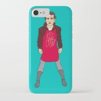 murray iPhone & iPod Cases featuring Grill Murray  by Chelsea Herrick