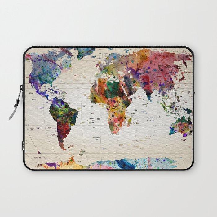 map Laptop Sleeve